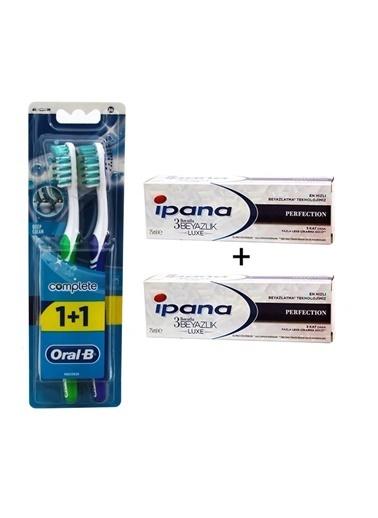 Oral-B 2'li Comple.Diş Fırçası+2'li Diş M,RNKSZ Renksiz